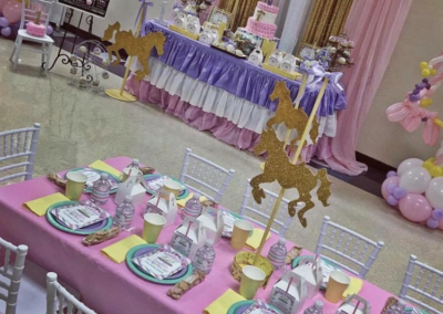 Kids 1st Birthday. Customer Pic. Kids Chivalri Chair, Linen, _ Kids Table by Epic. (2)